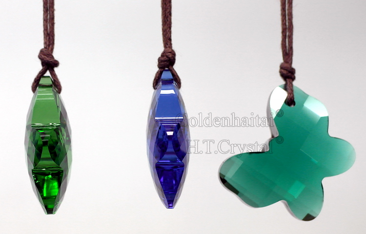 Crystal Butterfly Pendants