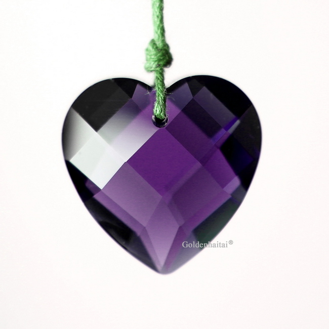 Heart Pendants Crystals